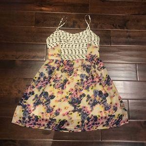 Bright Princess Waist Dress